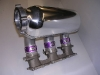 Plenum on manifold