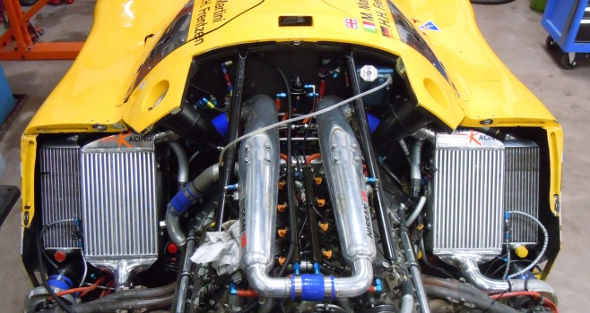 CHARGE COOLERS, INTERCOOLERS AND PLENUMS Nissan R91CK Group C Car