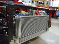 Alfa 33 Radiator & Oil cooler Combo In Situ
