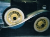 Spare wheel well