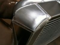 Intercooler end tank