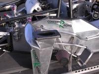 Air water intercooler