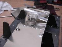 Secondary deaeration welded to body