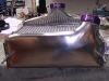 Intercooler - Shaped bottom tank