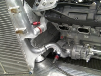Alterations to existing water system to accomodate V10 engine