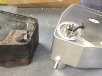 Lotus Esprit fuel tank