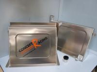 Fuel tank and bulkhead cover