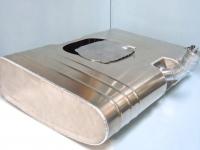 Aluminium bag tank container