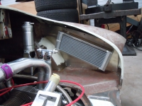 Full car installation Nick Weatherall's Karmann Ghia