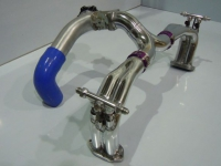 Inlet manifolds and turbo plenum with dump valve