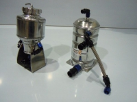 Brake and clutch fluid reservoir, petrol swirl pot