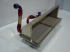 Ducting for oil cooler and charge cooler radiator