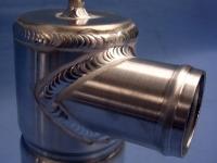 Water swirl pot