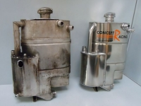 B24 oil tank - before and after