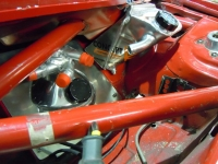 Alfa 33 dry sump and breather tanks