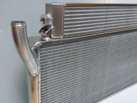 Oil cooler / radiator combination