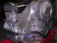 Concept van engine