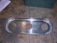 Porsche plenum base plate