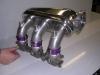 Porsche supercharger plenum