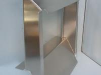 Aluminium radiator cowl