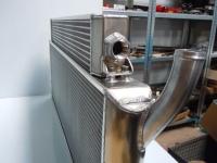 Radiator / oil cooler combination