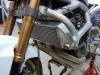 Motorbike radiator