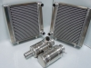 Elva radiators and header / swirl tanks