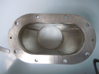 SUPERCHARGER THROTTLE BODY FLANGES