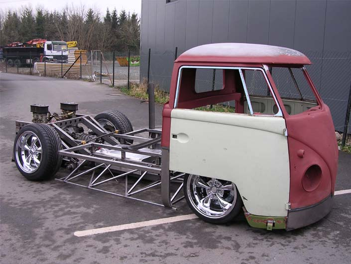Vw Single Cab Racing Project Precision Fabrication For