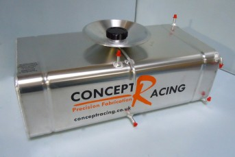 Radiused Corner Fuel Tanks 4 Gallon