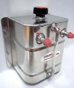 Universal Rectangular Oil Catch tank 3 Litre
