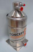 Vortex Dry Sump Tank – Wide body – 1 Gallon