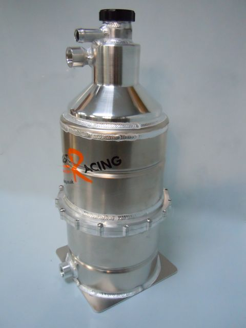 Split / Cleanable Vortex Dry Sump Tank