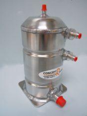 Base mounted petrol swirl pot 1.5 litre – Bolt up fittings