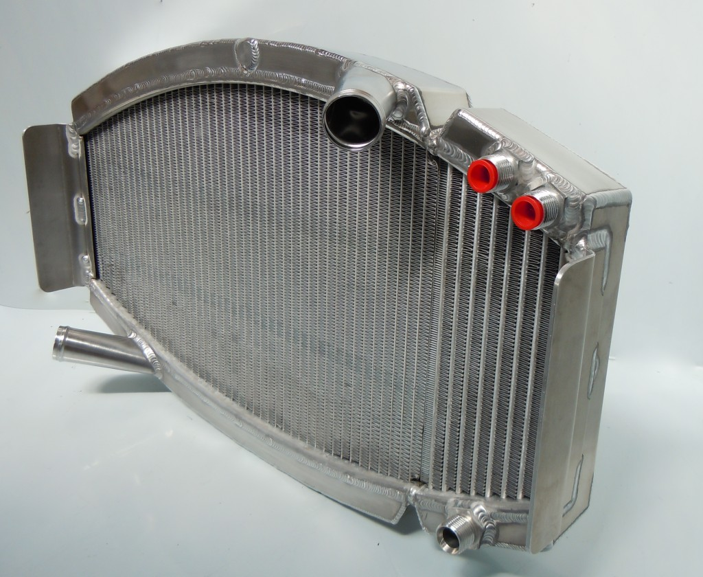Lotus 18/21 Radiator and Oil cooler