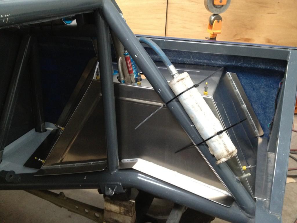 Steve Clarke's Land Rover - Inner arch set