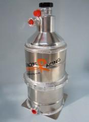 Split / Cleanable Dry Sump Tank – Wide body – 1 gallon