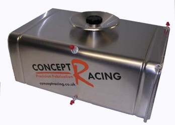 Radiused Corner Fuel Tanks 8 Gallon