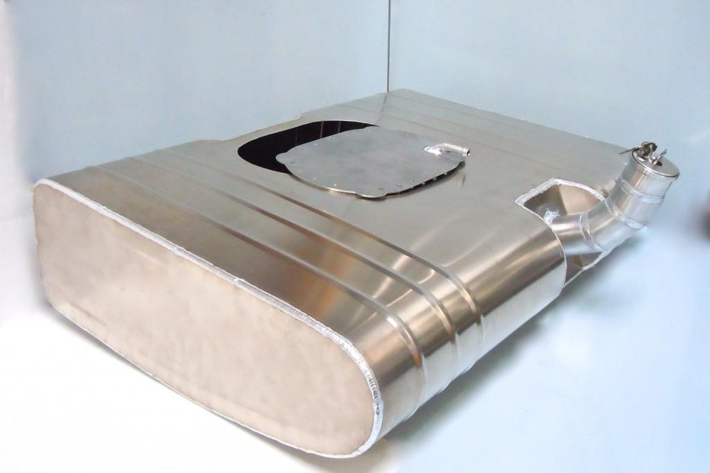 Aluminium FIA bag tank cover