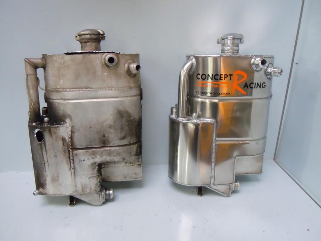 Replica oil tank