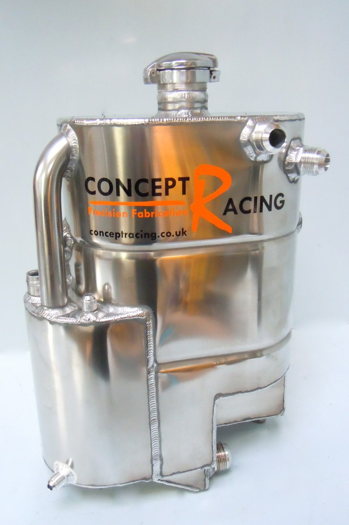 Replica dry sump tank
