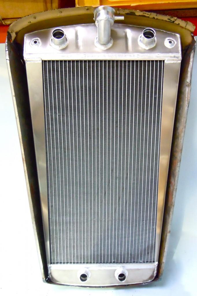Ford Pop Aluminium Radiator to Fit Inside Grill Panel