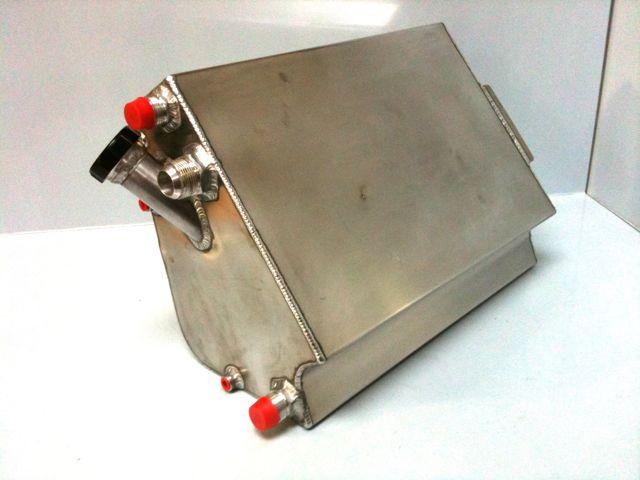Lola Oil Tank - Fitting into side pod