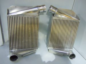 Mercedes C11 Intercooler Rebuild