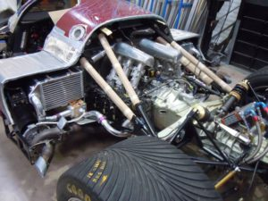 Porsche 962 Intercooler and plumbing