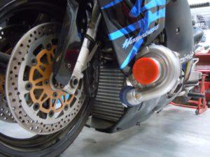 Drag Bike Intercooler & Radiator