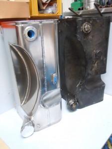 Copy aluminium Fuel tank