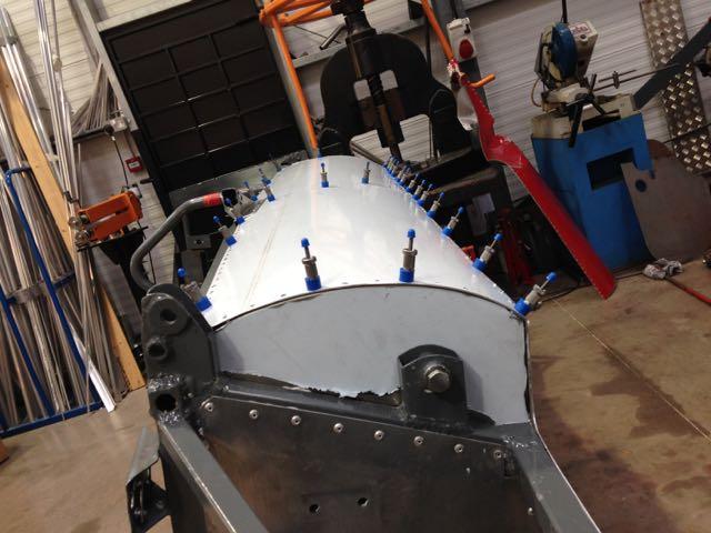 Single Seater Bodywork Repair
