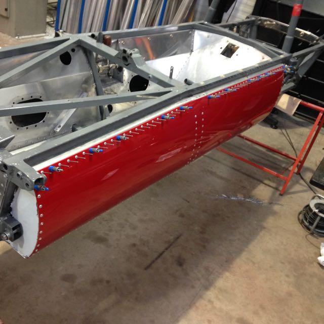 Ensign F3 Bodywork Repair