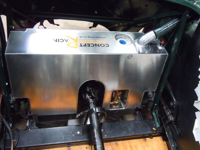 1936 Alta Fuel Tank in Situ